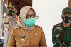 Bupati Bogor Ade Yasin di Pendapa Bupati, Cibinong, Kabupaten Bogor, Jawa Barat, Senin (29/6/2020). (Antara)