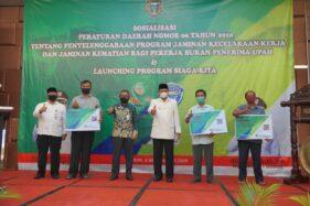 Hore, Pekerja Informal di Kota Madiun Dapat Asuransi BPJS Ketenagakerjaan dari Pemkot