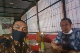 Ketua Umum Pergerakan Muda Indonesia, Razali Ismail Ubit (kiri). (Istimewa)
