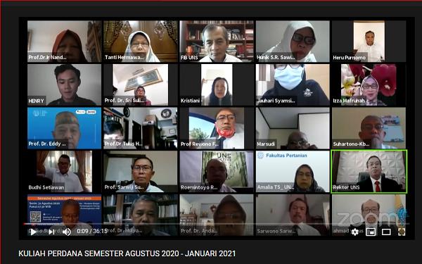Kuliah Perdana UNS Solo Via Zoom: Mahasiswa Harus Kuasai 16 Keterampilan, Apa Saja?