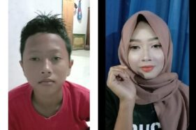 Bocah laki-laki yang didandani ibunya jadi sosok cantik. (Istimewa/Facebok/Ubaidillah)