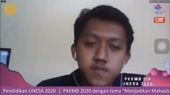 Tangkapan layar dari video viral perspektif mahasiswa FIP Unesa. (Khusus / Twitter / Rafirizqu19)
