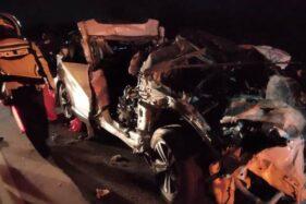 Kecelakaan Maut di Tol Solo-Semarang, Polisi: 2 Kendaraan Dalam Kecepatan Tinggi
