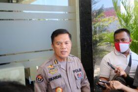 Kabid Humas Polda Jateng, Kombes Pol. Iskandar F. Sutisna, saat memberikan keterangan kepada awak media di Mapolda Jateng, Kota Semarang, Selasa (29/9/2020). (Istimewa/Bidhumas Polda Jateng)