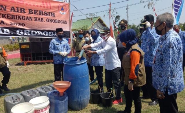 Waduh, 97 Desa di Grobogan Dilanda Kekeringan dan Krisis Air Bersih