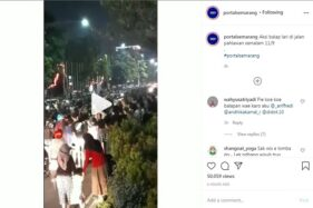 Viral Balap Liar di Semarang, Massa Berkerumun di Dekat Kantor Gubernur Jateng