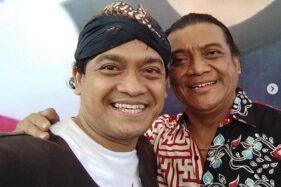 Bambang Surono bersama Didi Kempot. (Unstagram/@bambangsurono.gentolet)
