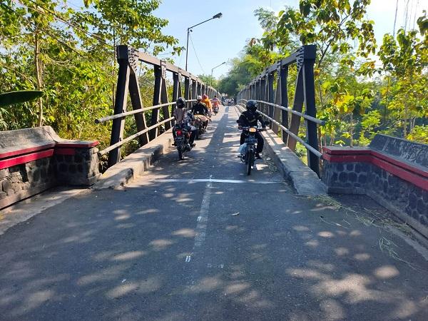 Telan Rp13 Miliar, Proyek Jembatan Lama Wonogiri-Sukoharjo Butuh Waktu 9 Bulan