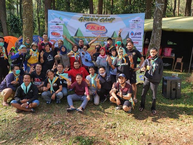 "Green Camp ""Unity in Harmony"" FK3O Middle of Java di Sekipan Tawangmangu"