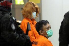 Foto tersangka kasus mutilasi Laeli Atik dan Djumadil. (Detik.com)