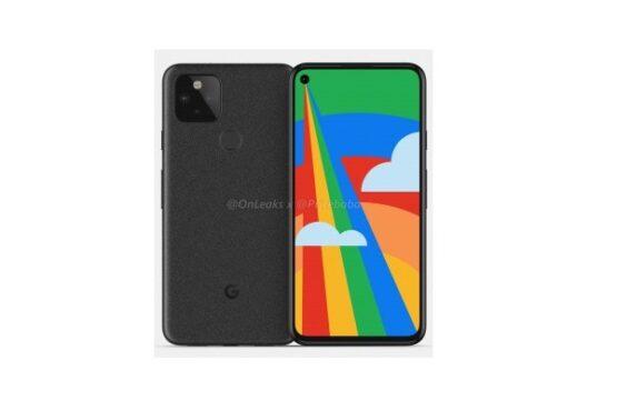 Gambar tak resmi dari Google Pixel 5. (Gsmarena.com)
