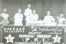Pertemuan PKI di Batavia (sekarang Jakarta), 1925. (Wikimedia.org)