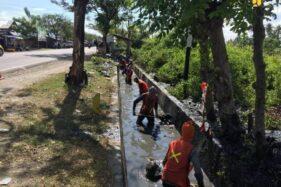 Tingkatkan Kualitas Layanan Jalur Logistik, Kementerian PUPR Lakukan Revitalisasi Drainase Jalan Nasional