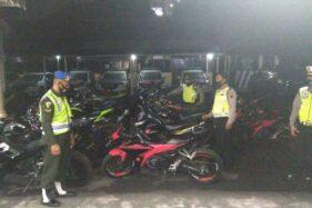 200 Knalpot Brong Sitaan Polisi di Solo Bakal Disulap Jadi Monumen