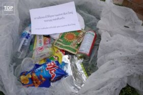 Buang Sembarangan di Taman Ini, Siap-Siap Dapat Kiriman Sampah