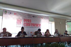 Jumpa pers Solo Batik Fashion #12 di Hotel Solia, Sabtu (26/9/2020) siang. (Ika Yuniati/Solopos)