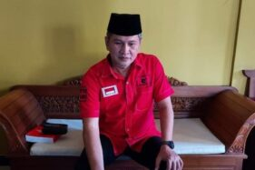 Setyo Sukarno, calon wakil bupati mendampingi Joko Sutopo (Jekek). (solopos)