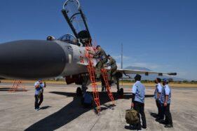 4 Pesawat Tempur Sukhoi Tiba di Lanud Iswahjudi Magetan