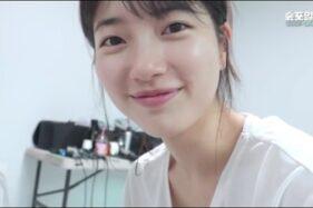 Suzy tampilkan wajah tanpa riasan buat penggemar kagum. (istimewa/Instagram/ management_soop)