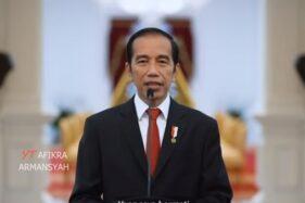 Tangkapan Layar Video kompilasi pidato Jokowi nyanyi Loss Dol. (Youtube Afikra Armansyah)