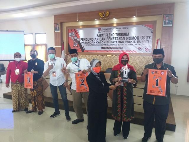Debat Paslon Pilkada Klaten 2020 digelar Jumat Pekan Depan, KPU Pastikan Soal Tak Bocor