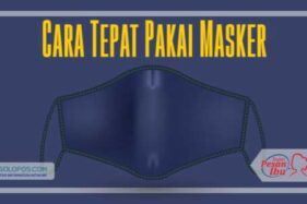 Infografis Cara Pakai Masker (Whisnupaksa/Solopos)