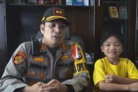 Bocah Yang Dibuang Ibunya Diangkat Anak oleh Kapolres Pelalawan