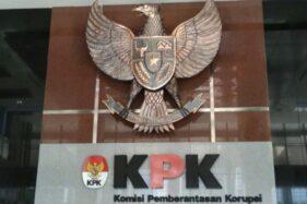 Logo KPK. (Antara-Benardy Ferdiansyah)