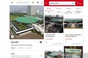 Akhirnya Iklan Gedung DPR Dijual Dihapus Pihak Shopee