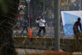 Ini Fakta Menarik Saat Demonstrasi UU Cipta Kerja di Jakarta