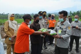 Tiga Agenda Mentan, Bantu Petani Korban Banjir Bandang Sukabumi