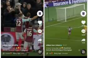 Viral West Ham United Pakai Latar Lagu Ampun Bang Jago, TikTokers Heboh