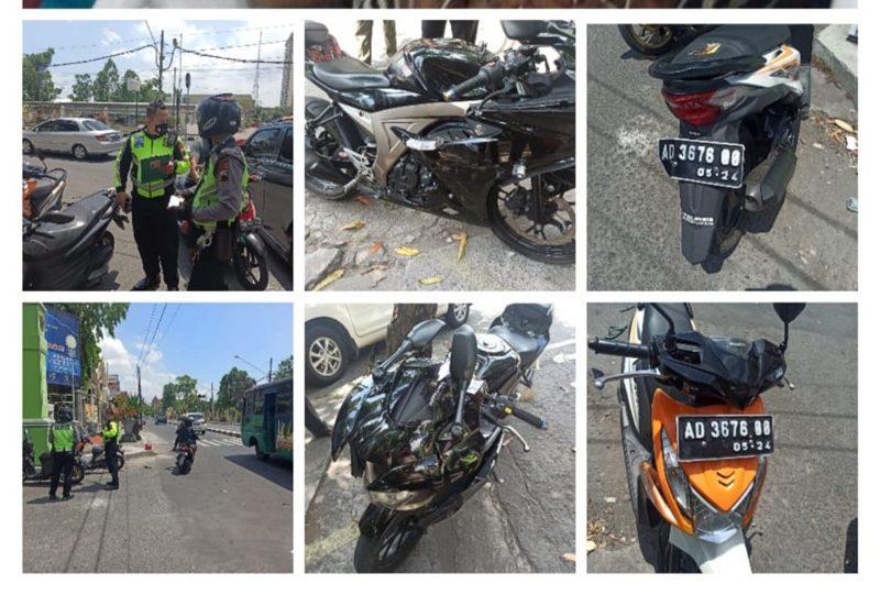 Nekat Buka Water Barrier, Warga Sangkrah Solo Ditabrak Sepeda Motor