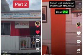 Rumah di 2 Negara, Terima Tamu di Indonesia, Makan di Malaysia