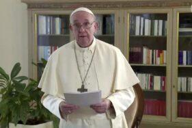 Paus Fransiskus. (dok. UNTV via AP)