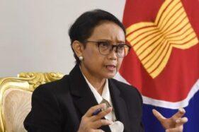 Menlu Retno Marsudi(Biro Pers Sekretariat Presiden)