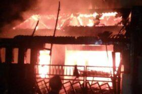 Kebakaran menewaskan lima orang sekeluarga. (detik.com)