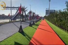 Uni Emirat Arab (UEA) meresmikan Jalan Presiden Joko Widodo di Abu Dhabi, Senin (19/10/2020). (JIBI - Bisnis/Nancy Junita @Facebook KBRI Abu Dhabi)