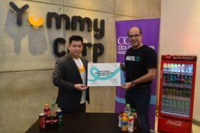 Coca-Cola Amatil berinvestasi di start up Indonesia, Yummy Corp. (Istimewa)