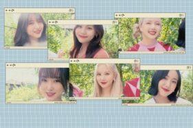 Grup idola K-pop Gfriend (Antara)