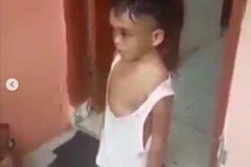 Ngompol, Bocah 4 Tahun Dianiaya Paman dan Bibi