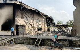 Kebakaran di Pabrik Busa Kalijambe Sragen, Kerugian Ditaksir Capai Miliaran