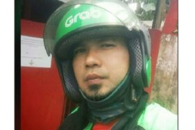 Ahmad Dhani KW beratribut ojol (Facebook)