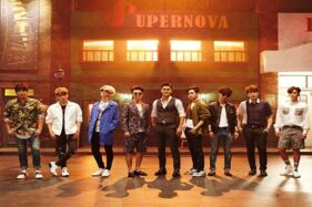 Kelompok vokal super Junior. (SM Entertainment)