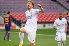 Gelandang Real Madrid, Luka Modric. (twitter/@realmadrid)