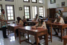 Imbauan Jemput Siswa Ikuti Uji Coba Pembelajaran Tatap Muka Klaten