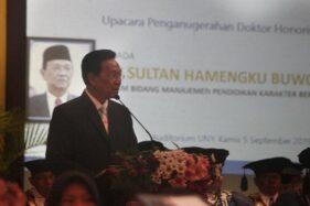 Gubernur Daerah Istimewa Yogyakarta (DIY) Sri Sultan Hamengku Buwono X. (Harian Jogja-Desi Suryanto)