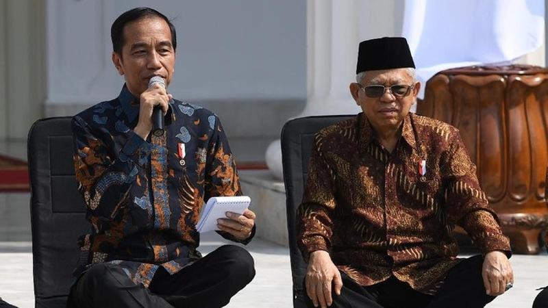 Survei Kepuasan Publik Terhadap Kinerja Jokowi Tinggi, Tapi Tidak dengan Ma'ruf Amin