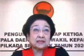 Ketua Umum PDIP Megawati Soekarnoputri. (Bisnis-Nancy Junita)