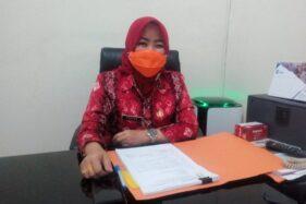 Ketua Gugus Tugas Percepatan Penanganan Covid-19 Kabupaten Grobogan Endang Sulistyoningsih. (Solopos.com/Arif Fajar Setiadi)